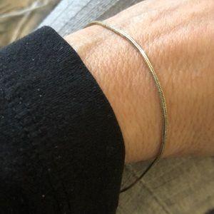Sterling serpentine bracelet